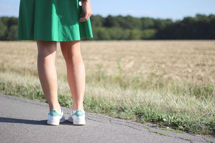 stan smith green skirt jupe verte pimkie adidas