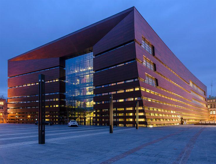 Narodowe Forum Muzyki, Wrocław  National Forum of Music in Wroclaw.