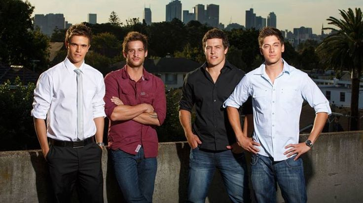 The Braxtons (Kyle, Heath, Brax and Casey) - Home and Away