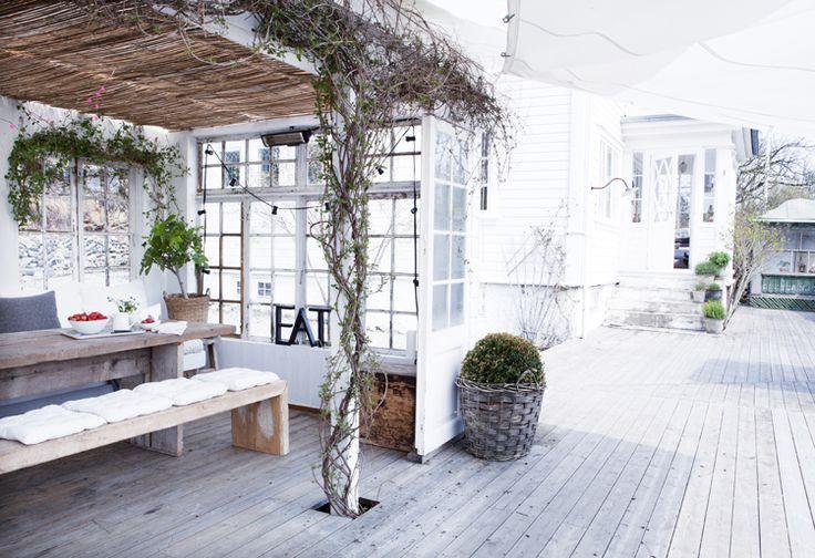 Hage og Uteplass Terrasse ideer heime Pinterest Interiors