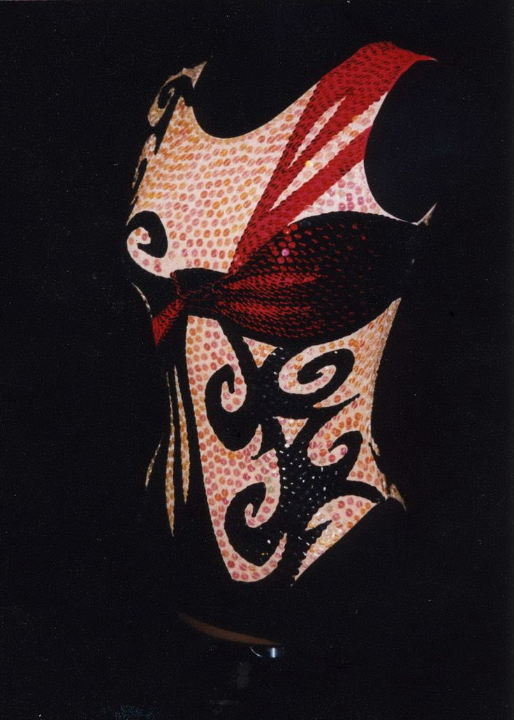 `Tango`Suit for Synchro Swimming,designer Nabatova Irina