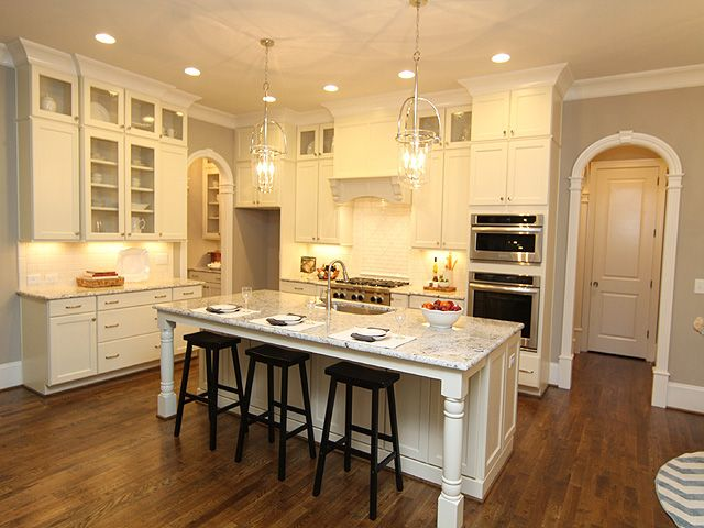 Arched Entries Into Kitchen Hallway Arches Interior Archway Moulding Archway Molding Moldings And Trim Arched Doors