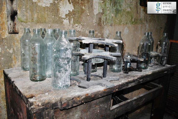 #Sassari, #Fai, bottiglie vuote all'ex oleificio Ardisson