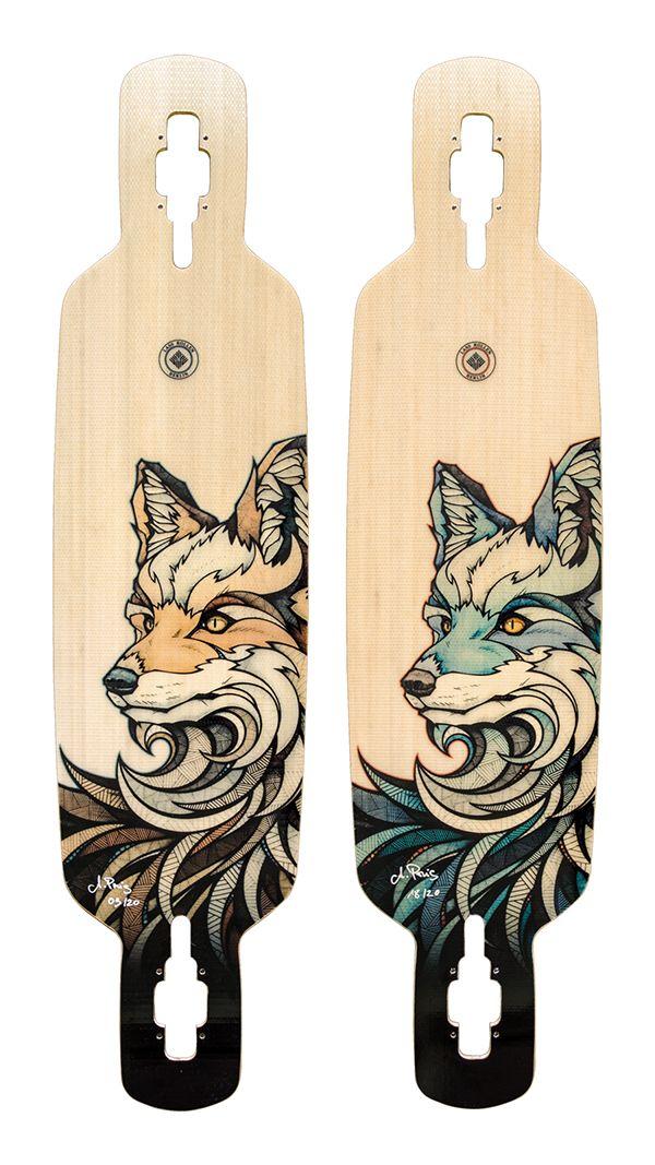 LassRollen // Animals of Berlin on Behance- long boards