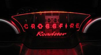 Chrysler Crossfire and Crossfire SRT6 Wind Restrictor