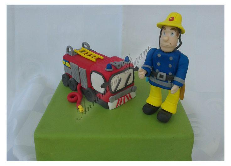 Oltre idee su torta sam il pompiere pinterest