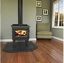 Vogelzang 1,200 sq. ft. TR001 Defender  EPA Approved Wood Stove with Blower and Ash Vacuum