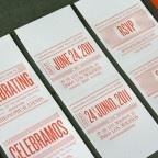A Matchbook Made in Heaven Wedding Invitation #letterpress