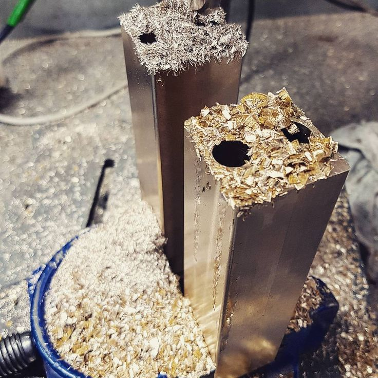 The only way to move forward is by trying new things! Playing with different material grades while making some custom door stops! #chanthardware #chant #door #stop #doorstop #brass #grades #drilling #bespoke #custom