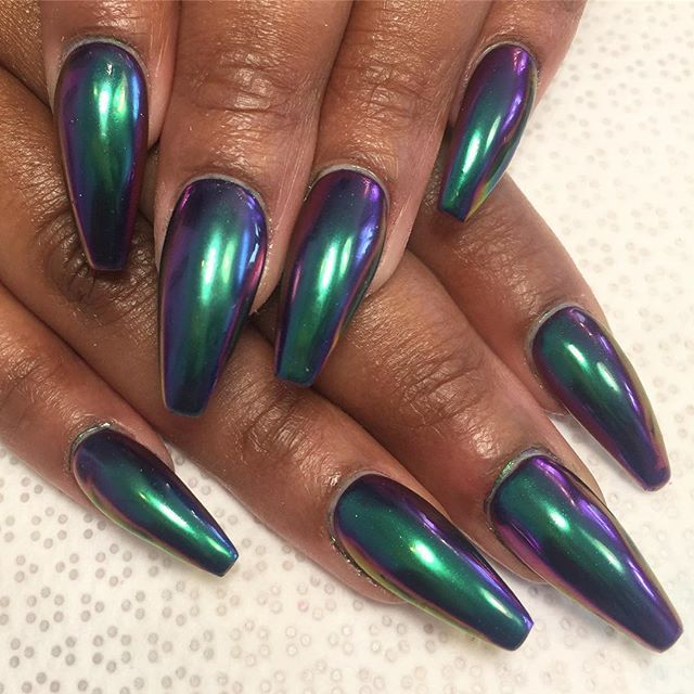 Chrome nails @KortenStEiN