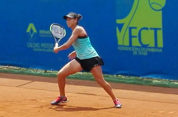 Su rival en la final será Emily Appleton de Gran Bretaña quien venció a la argentina Carla Lucero también en sets corridos con parciales 6-4 6-2.