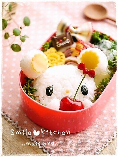 Cherinacherine bento    #food #bento