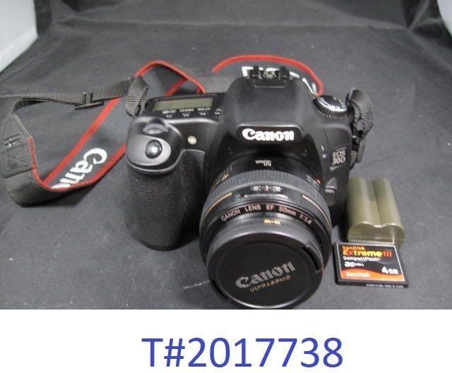 Canon EOS 30D 8.2MP Digital SLR Camera - With 55mm Ultrasonic Lens