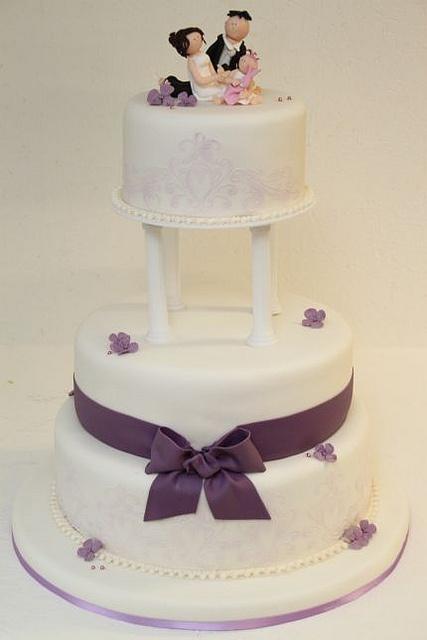 stöckige Hochzeitstorte klassisch  Wedding  Pinterest  Photos