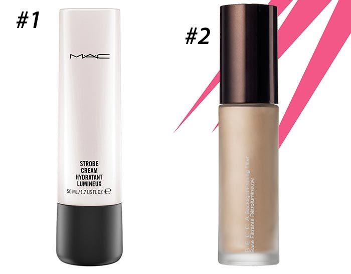 Лучшие праймеры подсвечивающие -MAC Strobe Cream и BECCA Backlight Priming Filter