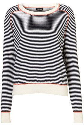 Knitted Stripe Stitch Top