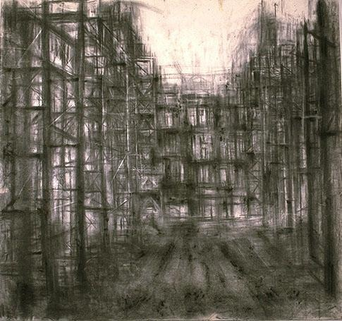 Alessia Avellino Silence 1 Charcoal on Paper