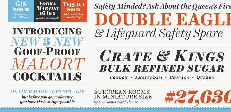 ! hot. Seriously, go check out this new font Harriet.