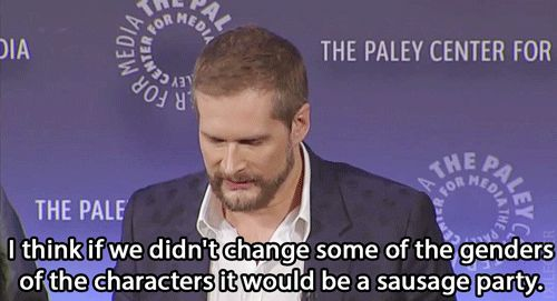 Regarding changing the characters of Alan Bloom and Freddie Lounds to women.... I didn't think that I could love Bryan Fuller any more than I already did.