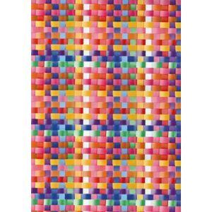 Fablon Sticky Back Plastic - Basket Multi-coloured