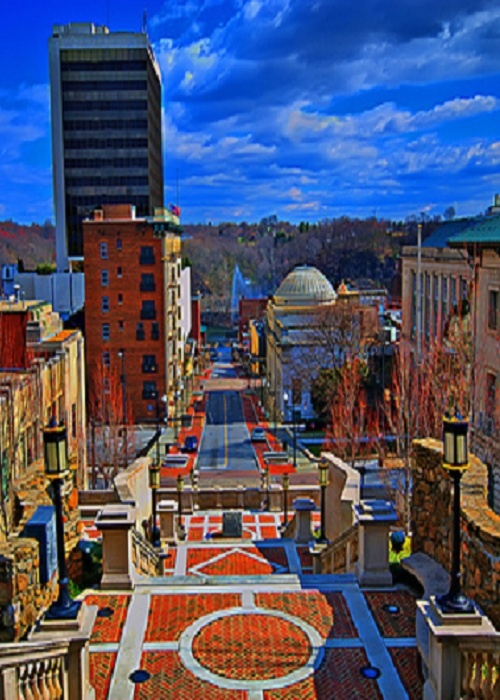 Lynchburg, Virginia. Two more months.