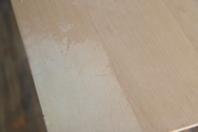 how to paint kitchen table