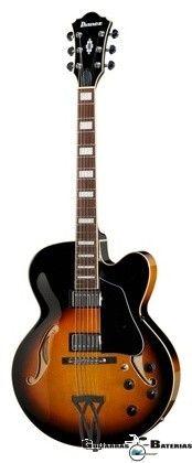 Guitarra SemiHollow Ibanez AF75 Artcore. Compra en Colombia.