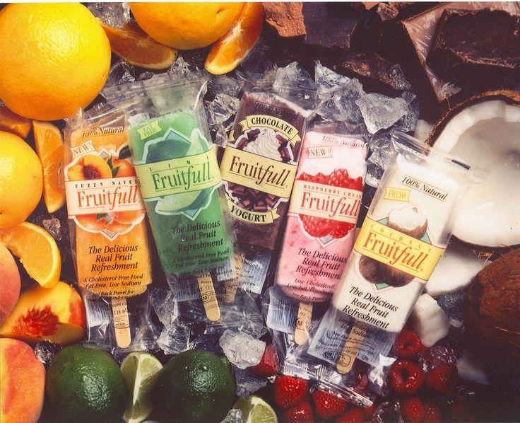 Fruitfull frozen fruit bars
