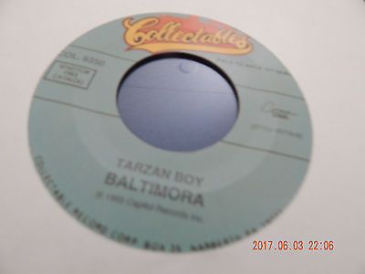 BALTIMORA 45 TARZAN BOY / DONNY OSMOND SOLDIER OF LOVE LOT 8