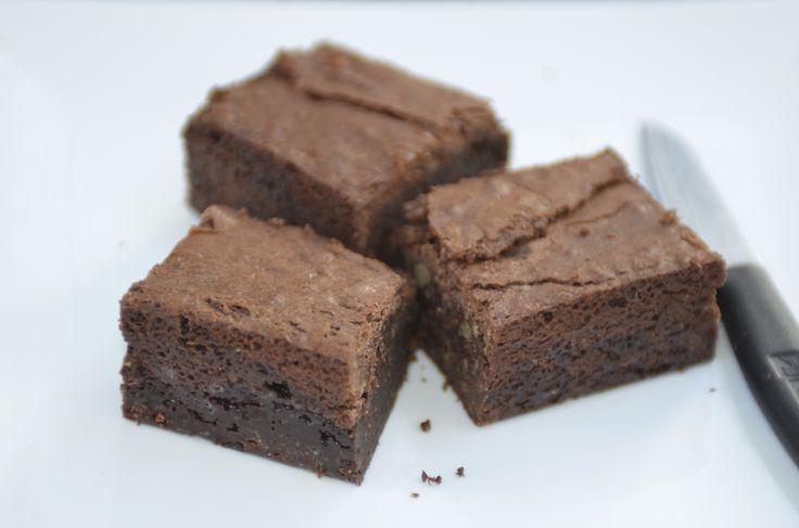 Home made Chocolate Brownie + coffee + winter = the BEST. #chocolate #brownie #indulge #cakes