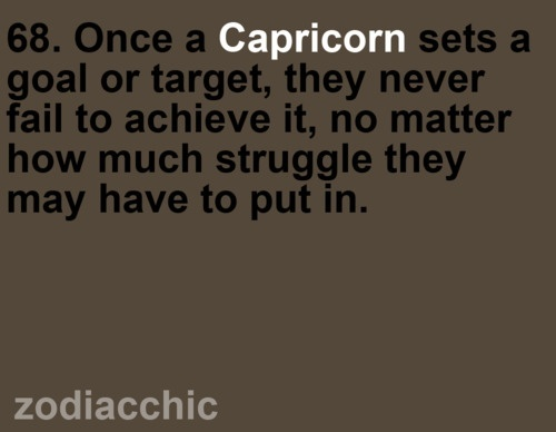 Capricorn love
