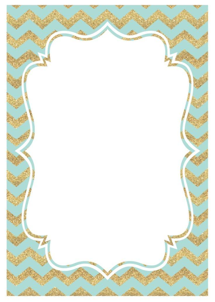 mint-gold-invitation-chevron.jpg (750×1050)