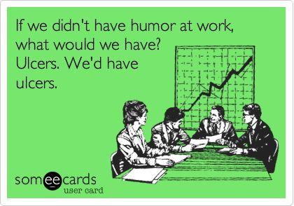 Except we're nurses, so we have them anyway!