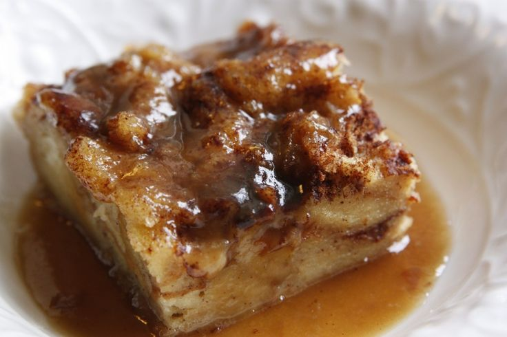 Classic Bread Pudding with Bourbon Sauce