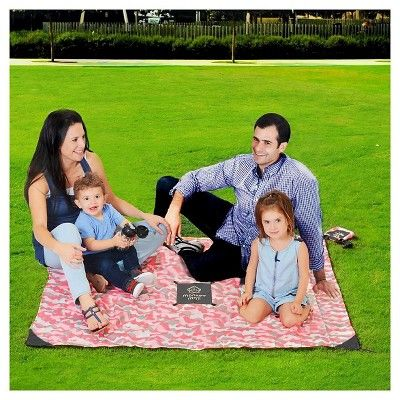Monkey Mat Your Ultra Compact Portable Floor - Pink Camo