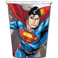 Superman Paper Cups Pkt8 $8.95 A069940