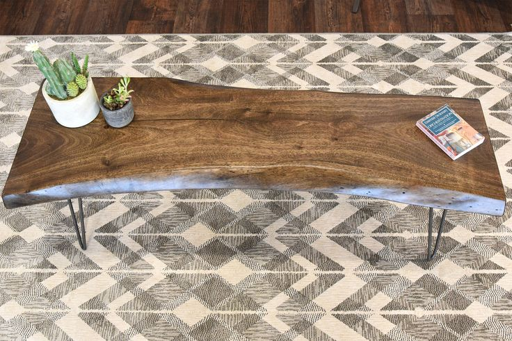 12 best Industrial Slab Coffee Table images on Pinterest