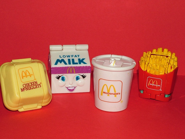 Happy Meal Transformers! I totally had the fries and milkshake!