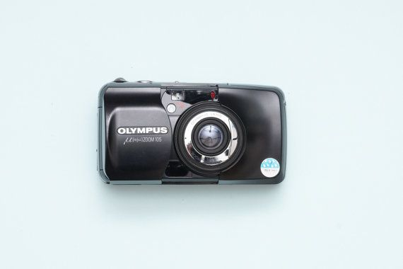 Olympus Mju Zoom 105 Weatherproof Point and Shoot by ohsocult