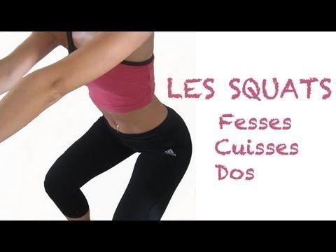 FITNESS | Squats sans poids pour affiner les cuisses et galber les fesses - http://health.bruisedonion.com/901/fitness-squats-sans-poids-pour-affiner-les-cuisses-et-galber-les-fesses/