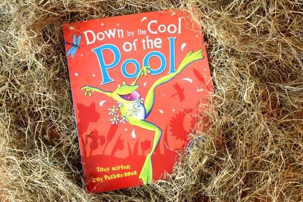 Down by the Cool of the Pool from Baby Book Club June 17 box - On the Farm | Three books a month. Lovingly hand chosen. Delivered to your door.