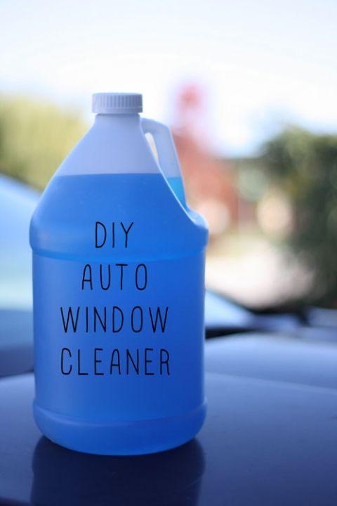 Homemade Washer Fluid For Automobiles Homemade