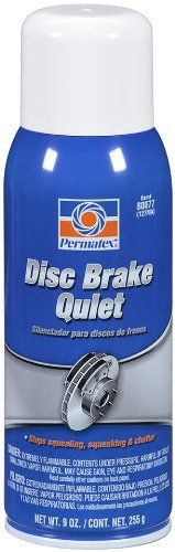 SAVE $31.09 - #Permatex 80077-12PK Disc Brake Quiet, 9 oz. net Aerosol Can (Pack of 12) $65.99