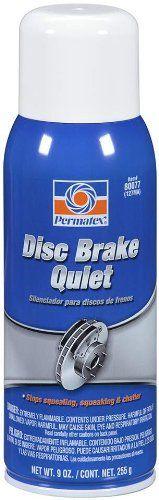 SAVE $31.09 - #Permatex 80077-12PK Disc Brake Quiet, 9 oz. net Aerosol Can (Pack of 12) $65.99