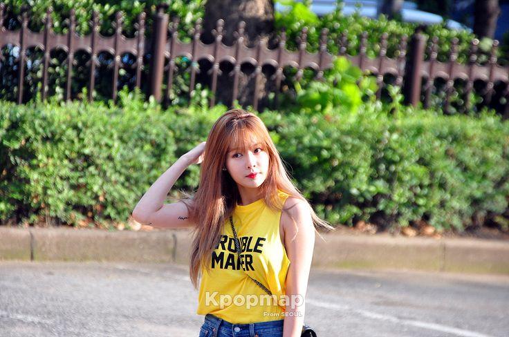 #hyuna #hyunacomeback #hyunafancam #hyunaphotoshot #hyunamusicbank #hyuna2016 #160805hyunamusicbank #160805musicbank #hyunakpop #hyunaprofile