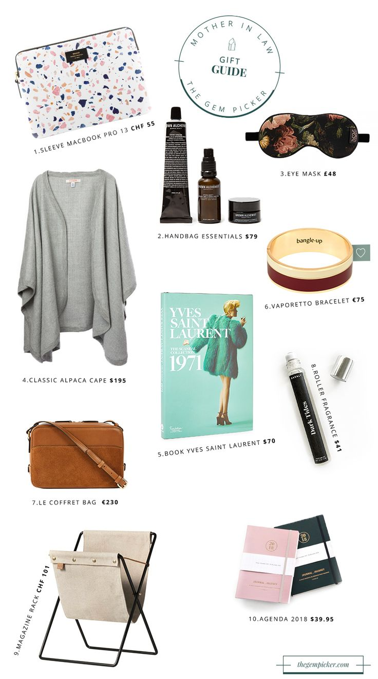 Christmas Gift Guide: for Your Mother in Law