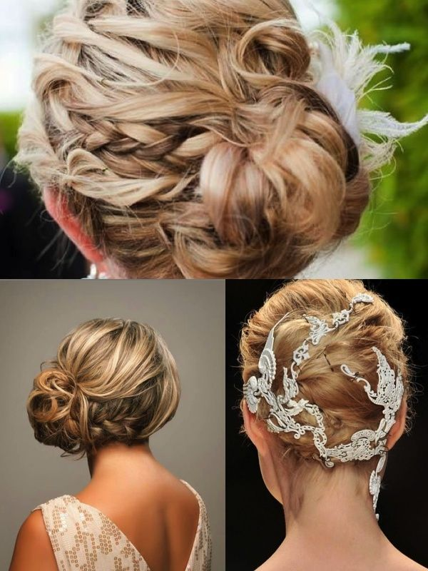 31 Breathtaking Wedding Updo Hairstyles for Blonde Brides | Eventi e Wedding P. - The Wedding Blog
