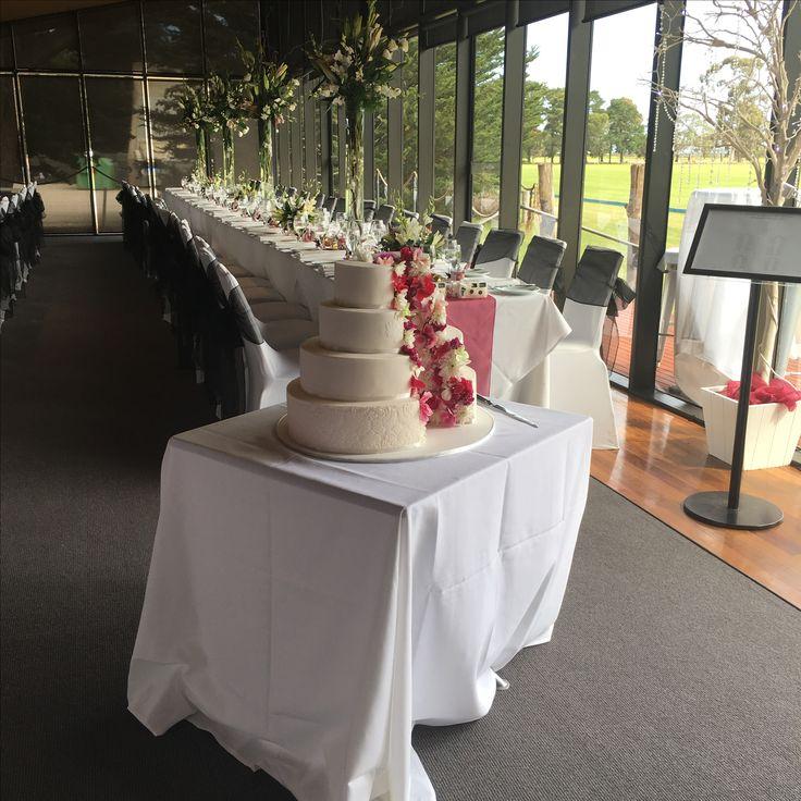 Werribee mansion. Pavilion. Table set up.