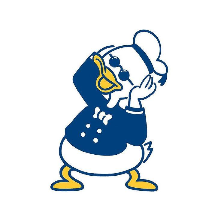 久々の色あり 色ありも描いてて楽しいなー #duck #animal #character #fashion #seijimatsumoto #松本セイジ #art #artwork #draw #graphic #illustration #donaldduck #イラスト #音楽 #アヒル #ファッション #デザイン #アート