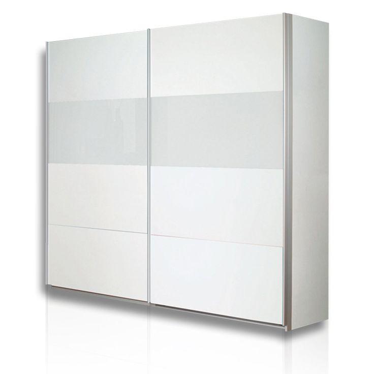 Perfect Schwebetürenschrank QUADRA   Alpinweiß   226 Cm Breit Gallery